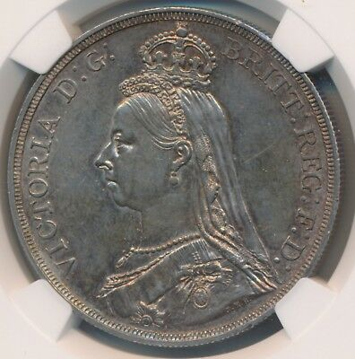 Great Britain Victoria Crown 1887 Ngc Ms62