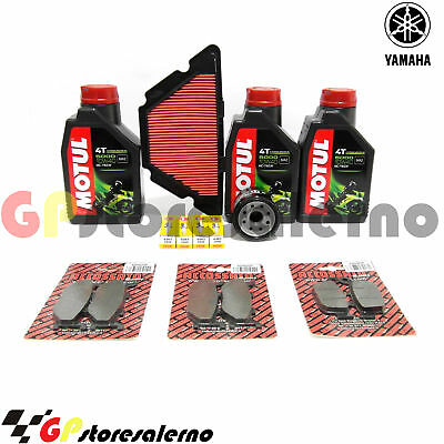Kit Tagliando Completo 5000 10W40 Yamaha 600 Xj6 S Diversion 2010