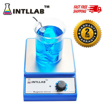 INTLLAB Magnetic Stirrer with Stir Bar 3000 rpm Max Stirring Capacity: 3000ml