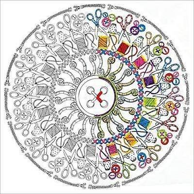 Zenbroidery - Sewing Mandala 4049 - Printed fabric plus needle- Embroidery free