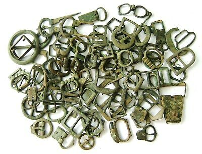 Bulk Lot of  Medieval & Later Bronze Buckles – Metal Detecting Finds [#397]