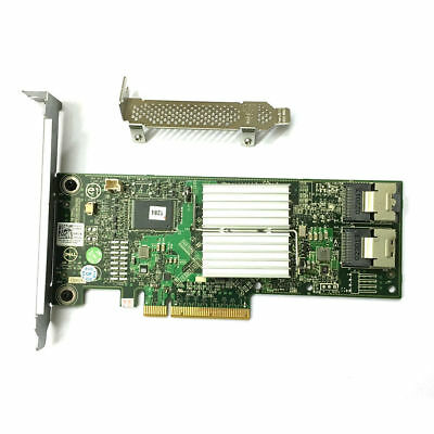 New Dell PERC H310 8-Port 6Gb/s SAS Adapter RAID Controller HV52W From US Ship