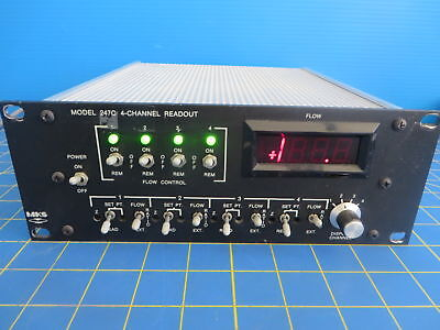 MKS 247C 4-Channel Digital Readout