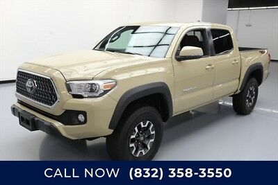 Toyota Tacoma 4x4 TRD Off-Road 4dr Double Cab 5.0 ft SB 6A Texas Direct Auto 2018 4x4 TRD Off-Road 4dr Double Cab 5.0 ft SB 6A Used 4X4