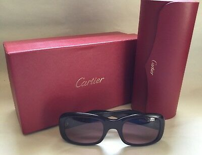 Vintage Cartier Sunglass 135 Made In France With Case And Original Box
