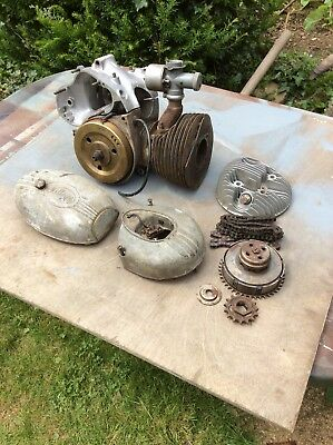 Greeves,villiers Engine Parts.
