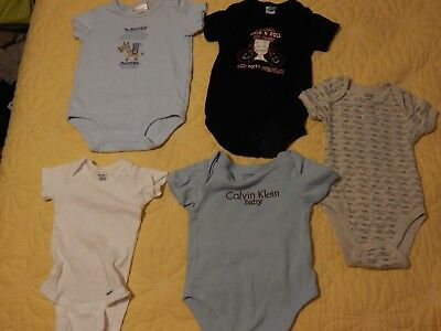 d2f70edce46f BABY BOY CLOTHES lot 3 And 3-6 months Carter Gerber Onsie Shirt ...
