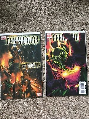 Marvel Annihilation complete 26 issue lot Thanos Nova Drax Gamora Silver Surfer