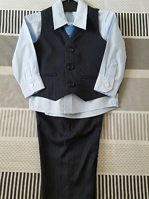 boys wedding outfit 6-9 months