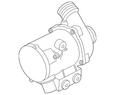Genuine New Oem Water Pump 11 51 7 632 426