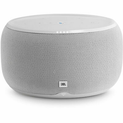 JBL Link 300 Google-Enabled Voice-Activated Wireless Speaker - White
