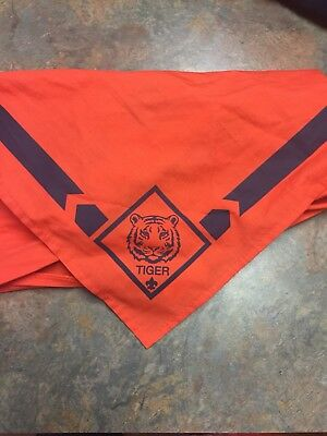 Cub Scout Tiger Cub Neckerchief Orange Scarf