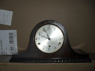 Anvil Nap hat Parlour Clock with Westminster and Whittington chime