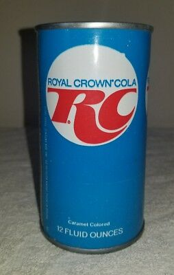 Late 1960's Steel Royal Cola can - opened