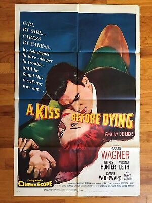 A KISS BEFORE DYING- One-Sheet