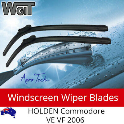 Windscreen Wiper Blades Aero Suit Tech FOR HOLDEN Commodore VE VF 2006 on (L+R)