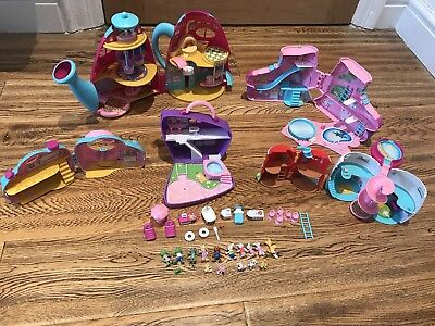 teeny weeny families teeny little families large bundle X6 Play Sets + Figures