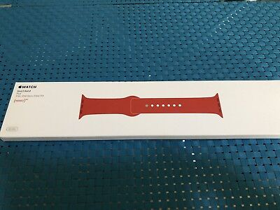 Genuine Apple Product Red Sport Band for 38mm Apple Watch