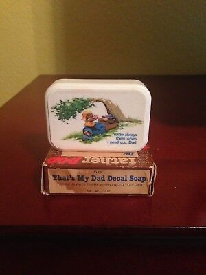 Avon That's My Dad Decal Soap - You're Always There When I Need You - 1983