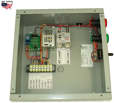 Automatic Water Pump Controller Dual Float Level AC IPC001