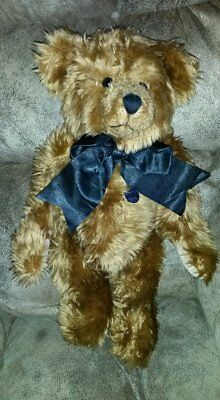 "17"" Knickerbocker Bear Co Cinnamon Anniversary Collection Jointed Teddy Plush"