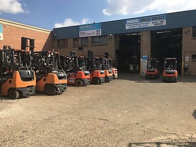 Forklift Toyota , Forklifts , Container Mast , Lpg , Diesel , Lots In Stock Wqw