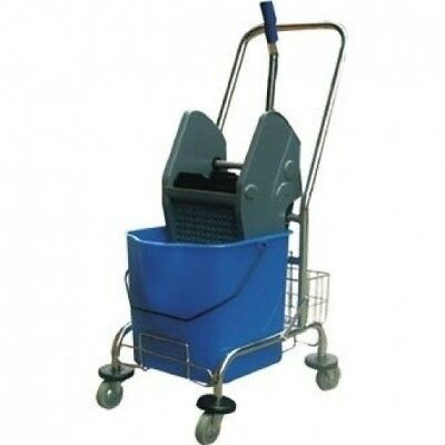 Winware Deluxe Mop Wringer Heavy duty wringer and bucket with a strong