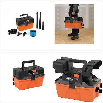 Wet Dry Vacuum Rubber Hose Cleaner Storage Filter Portable Blower Toolbox Case
