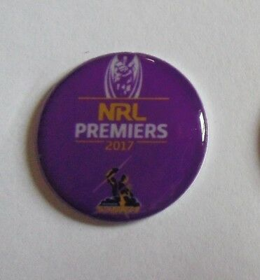 2 only MELBOURNE STORM 2017 Premiers GOLF BALL MARKERS 25 mm