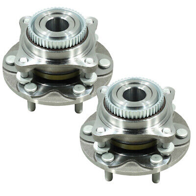 Two (2) Front Wheel Bearing Hub Assembly For Toyota Hilux 4Wd 4X4 Kun26R Ggn25R
