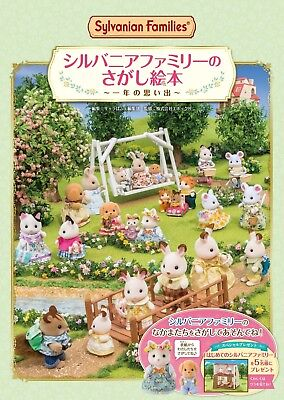 Sylvanian Families Calico Critters A Year of Memories Picture Book
