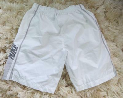 Nike White Football Sports Shorts Soccer Size S