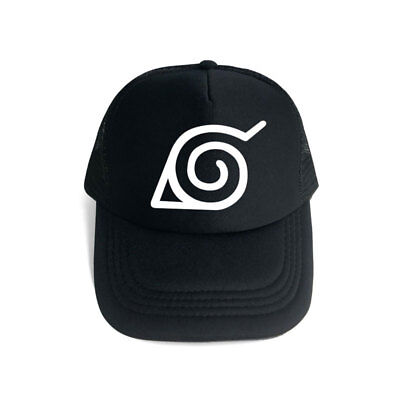 Anime Naruto Konoha Cotton Hip-hop Sun Hat Unisex Baseball Cap Cosplay Outdoor