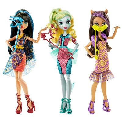 Monster High Welcome To Movie Character Fashion Doll With Accessories Age 6+