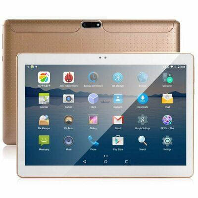"""10.1"""" ANDROID 7.0 TABLET playstore 3G 2 SIM 32GB 8 CORE 4GB RAM GPS wifi DgB"""