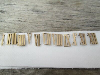 Smiths/smiths Enfield Striking/westminster Mantel Clock Numerals Pin On Type