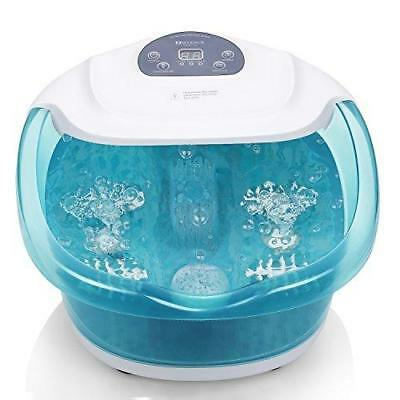 Foot Spa/Bath With Bubble And Heat For Relaxation And Rejuvenation, Pedicure By
