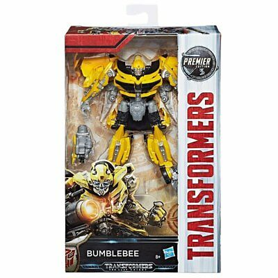 Transformers: The Last Knight Premier Edition Deluxe Bumblebee Figure