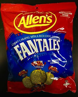 NEW Allen's Fantales - 1kg Party Supplies Occasion Birthday Christmas