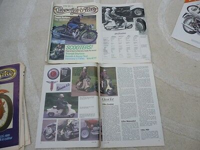 Vespas 90/125/150 /180cc technical & historical articles-increased to 25 items!
