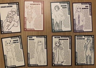 Brynhildr in the darkness Charakter Cards 6-13