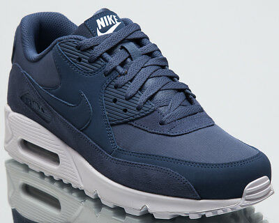 on sale f96f1 2faf3 NIKE AIR MAX 90 Essential Men New Shoes Mens Diffused Blue Sneakers  AJ1285-400