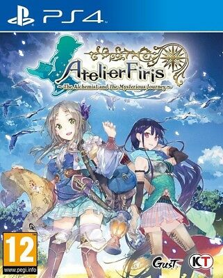 PS4 Atelier Firis The Alchemist And The Mysterious Jour