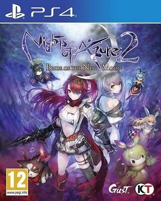 PS4 Nights of Azure 2 Bride of the New Moon