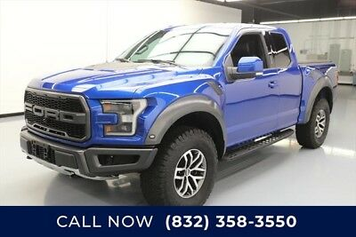 Ford F-150 Raptor Texas Direct Auto 2017 Raptor Used Turbo 3.5L V6 24V Automatic 4X4 Pickup Truck