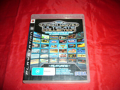 Brand New Playstation 3 Ps3 SEGA Mega Drive Ultimate Collection Free Postage