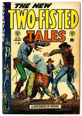 Two-Fisted Tales #36 G/VG 3.0 Wally Wood art  EC  1954  No Reserve