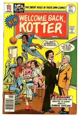 Welcome Back, Kotter #1 NM- 9.2 white pages  DC  1976  No Reserve