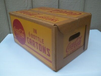 Really Nice&clean Condition Coca-Cola Box / Heavy Carton Case W/patents Pending