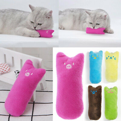 Creative Thumb Pillow Scratch Crazy Cat Kicker Catnip Toy Teeth Grinding Toys